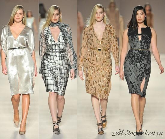 Мода 2012 для полных от Elena Miro