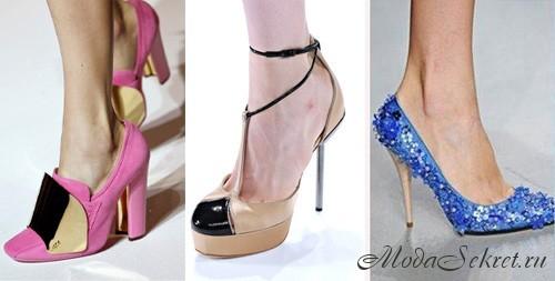 Модные туфли 2012 фото