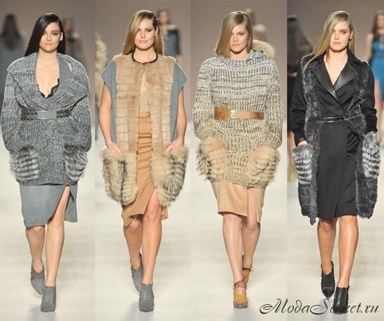 Мода для полных осень-зима 2012
