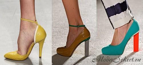 Какие туфли в моде 2012 фото