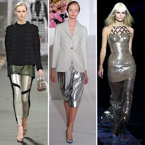 Слева направо: Just Cavalli, Jil Sander, Versace