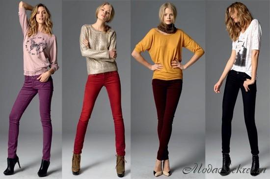 Модные джинсы осень зима 2017-2018