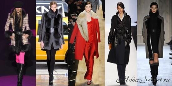 Пальто зима 2013