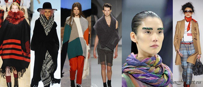 модные аксессуары зима