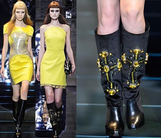 модные сапоги осень зима -