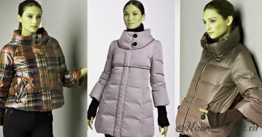 модные пуховики осень-зима -