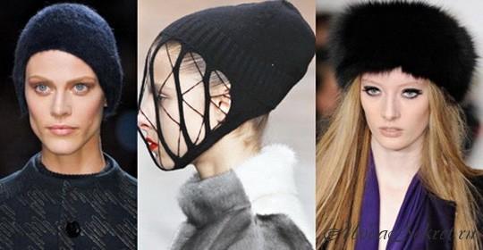 модные шапки зима