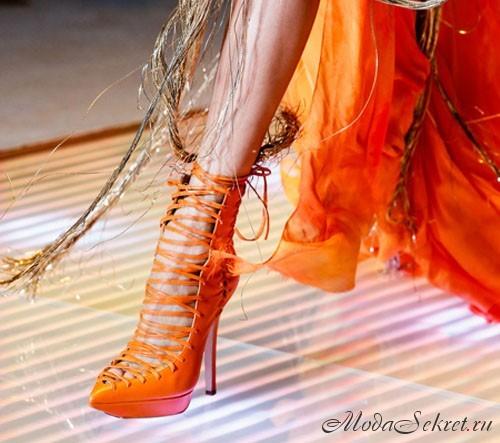 модная обувь весна-лето этого года