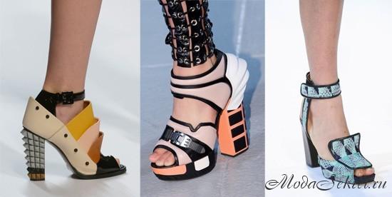 модная обувь весна этого года