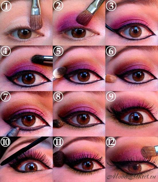 как сделать макияж фото