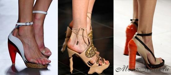 модная обувь лето этого года