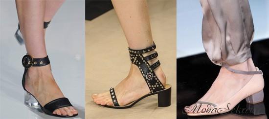 модная женская обувь весна-лето этого года