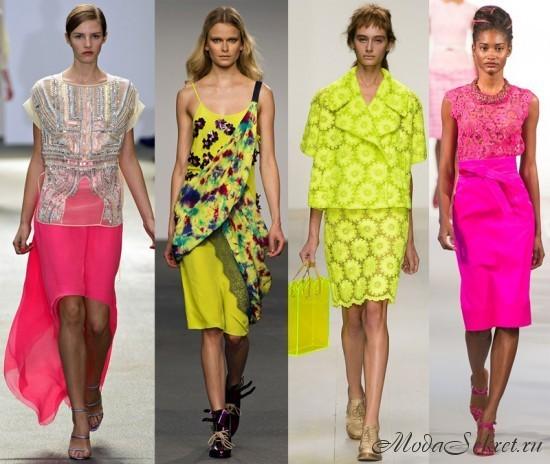 Что модно летом этого года?