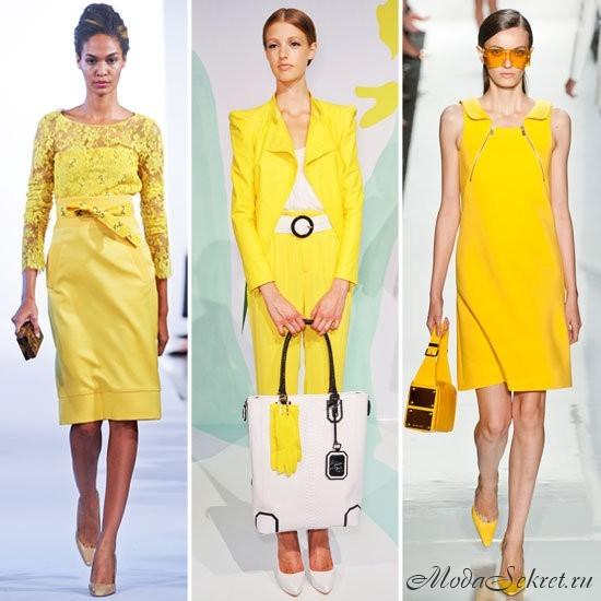 какие цвета в моде весной этого года