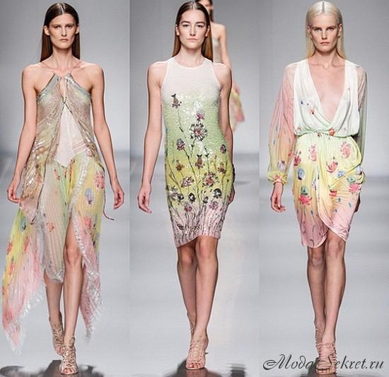 модные летние платья этого года
