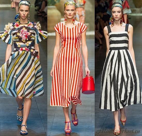 какие платья в моде в этом году