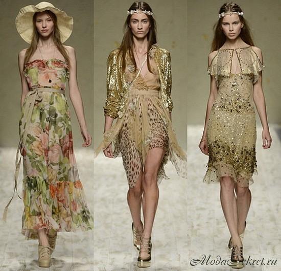 какие платья в моде этим летом