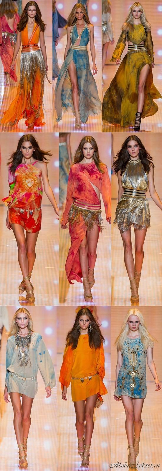 платья весна-лето этого года