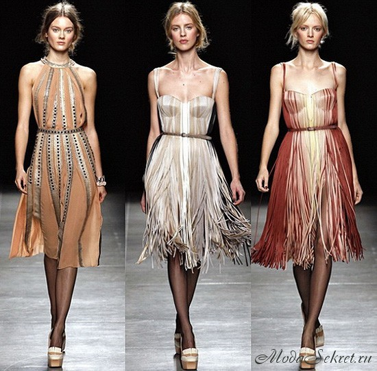 модные платья весна этого года фото