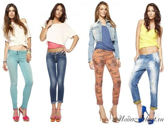 джинсы этого года