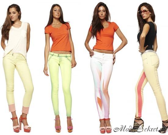 джинсы весна лето этого года