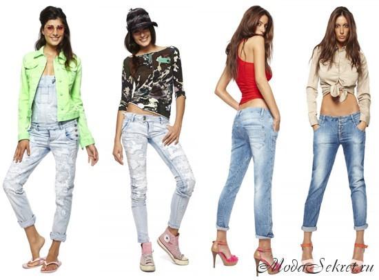 модные джинсы весна лето этого года
