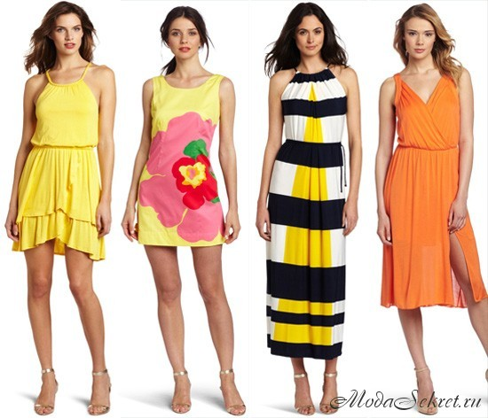 летние платья и сарафаны этого года