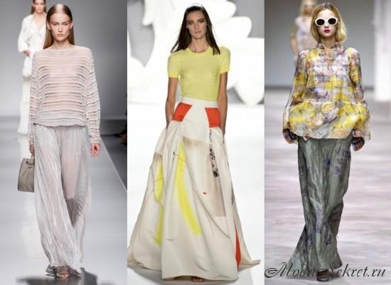 модные летние юбки этого года