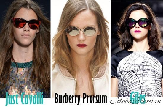 солнечные очки этого года