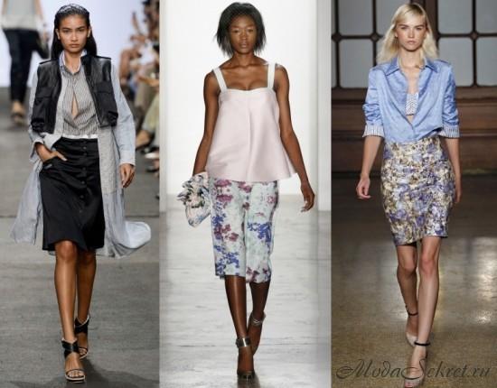 модные юбки весна-лето этого года