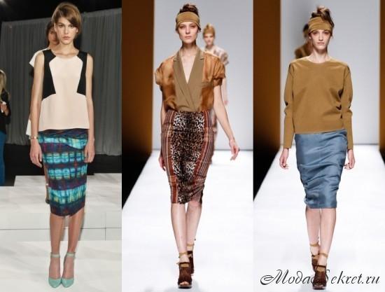 модные юбки весна лето этого года фото