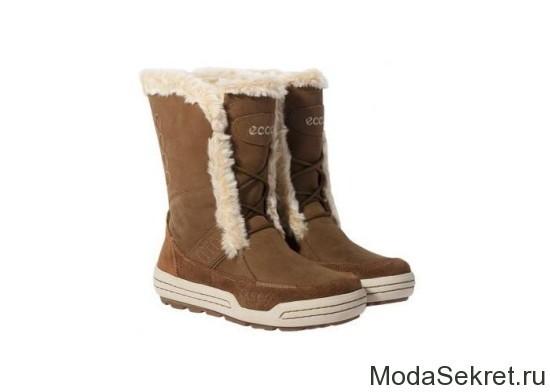 высокие ботинки зимние для женщин
