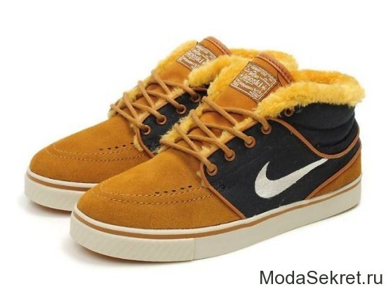 ботинки nike для зимы