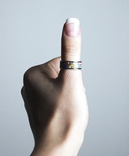 Кольца на большом пальце