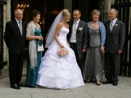 Свадебный наряд для родителей