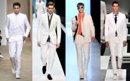 Белый пиджак в мужском гардеробе