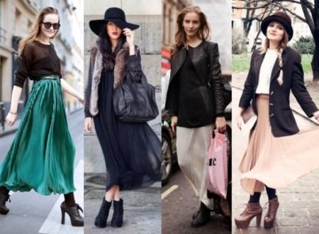 Почему у вас должная быть длинная юбка плиссе?