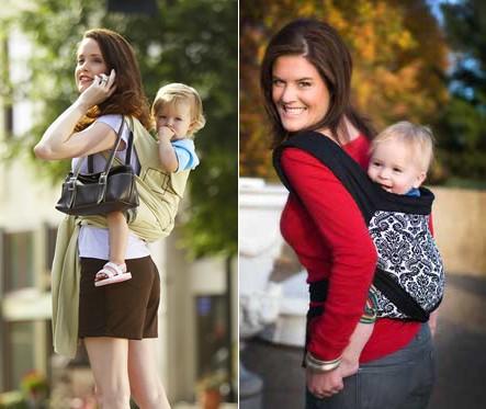 Носить малыша за спиной
