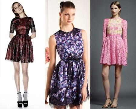 Цветные стильные платья