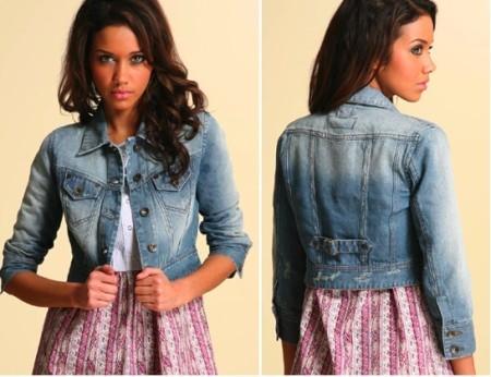 Джинсовая куртка – вещь вне моды