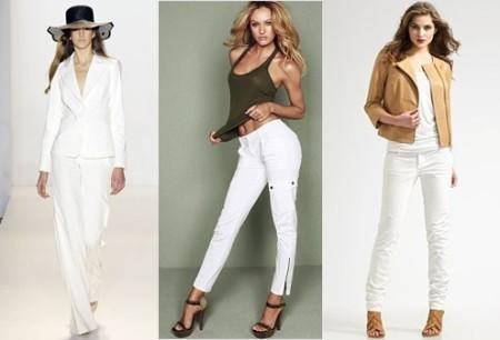 Белые брюки для свидания