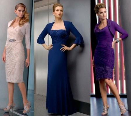 Выбираем платье для мамы невесты