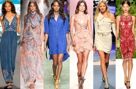Трендовые модели платьев