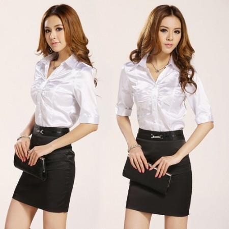 Офисные женские рубашки