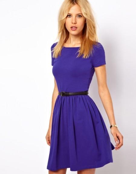 Короткий рукав на платье