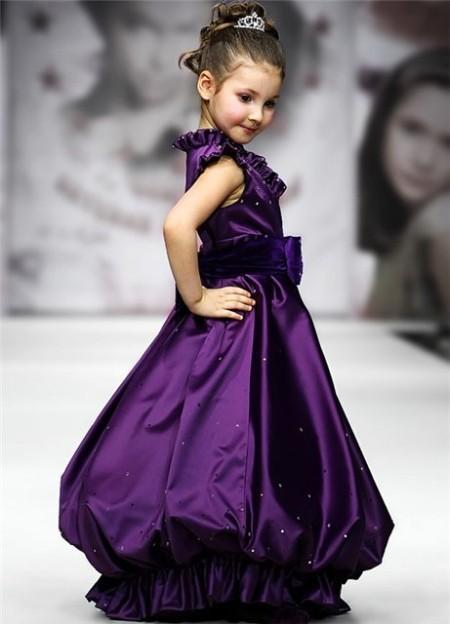 Фасон детского вечернего платья
