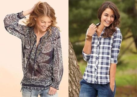 Как носить женские рубашки