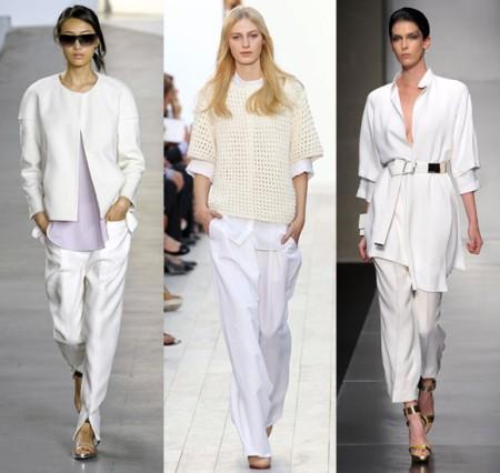 С чем еще стоит надеть брюки белого цвета