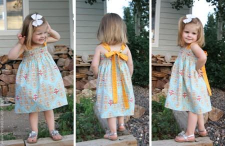 Летнее платье для дочки своими руками