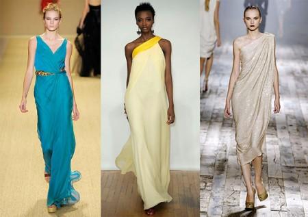 Кому подойдет греческое платье?